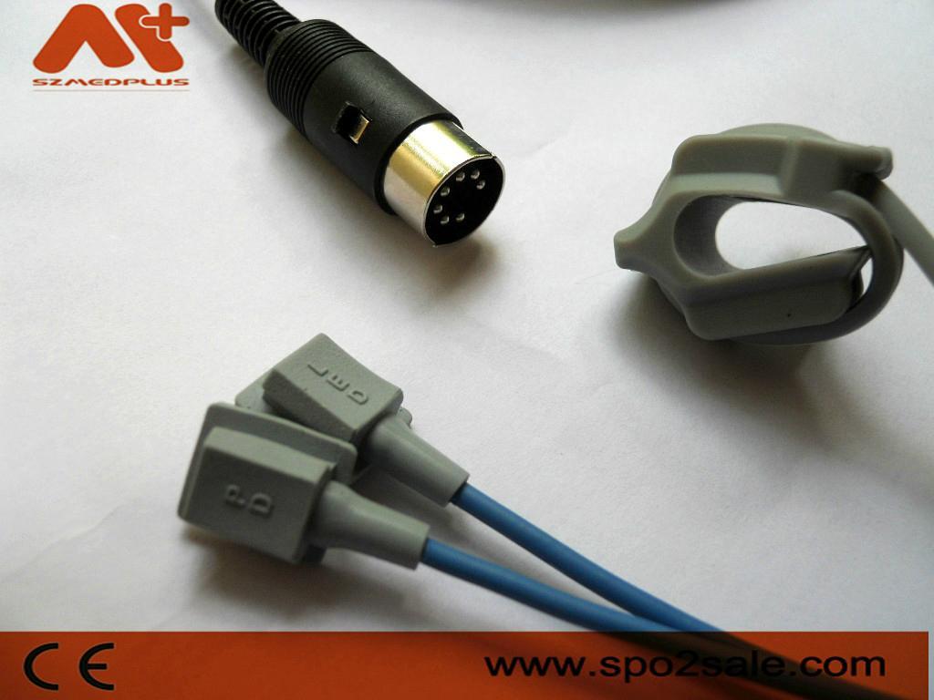 Schiller® Masimo®  Argus Pro/Argus LCM Compatible SpO2 Sensor 7