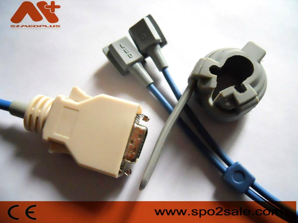 Zoll adult soft tip Spo2 sensor 6