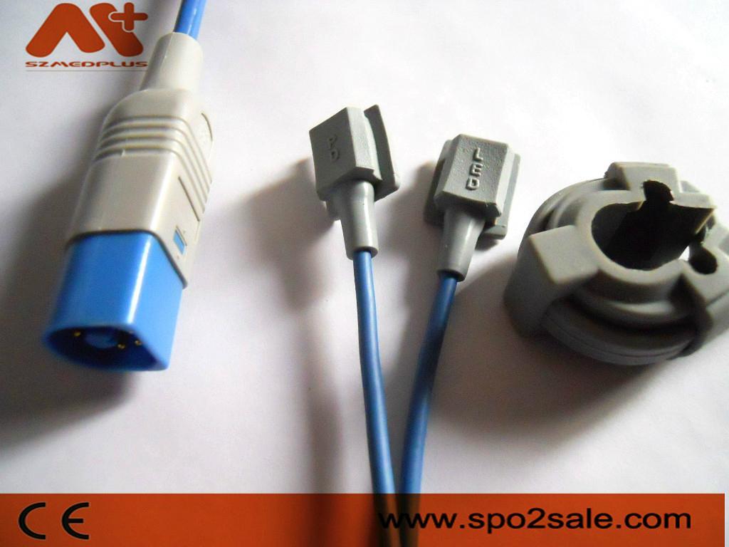 Philips Masimo SpO2 Sensor, 9 Foot Cable 4