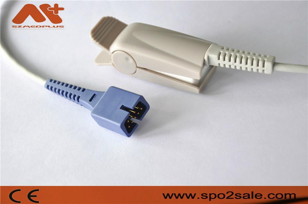 Nellcor Oximax adult finger clip Spo2 sensor 1