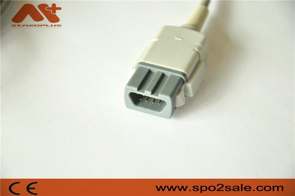 GE-Ohmeda Trusat OXY-F4-MC adult finger clip Spo2 sensor  2