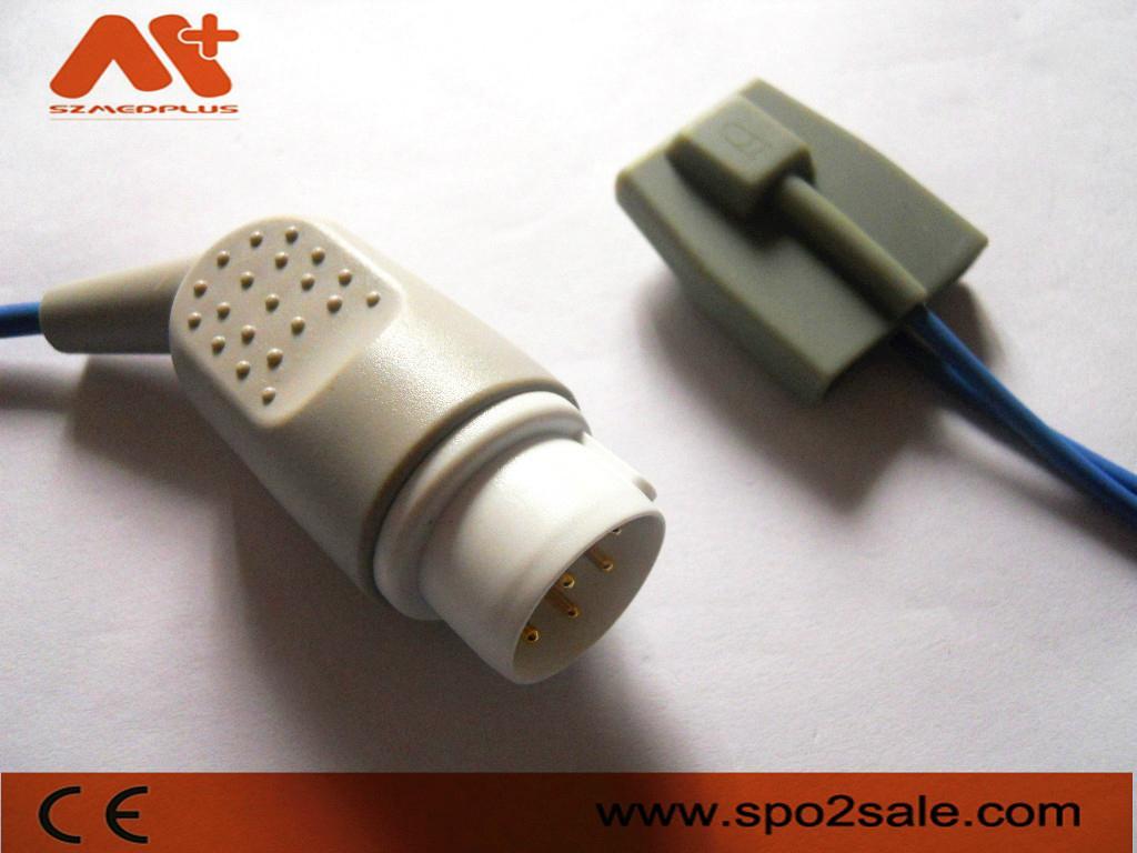 MEK pediatric soft tip  Spo2 sensor For MP1200 1