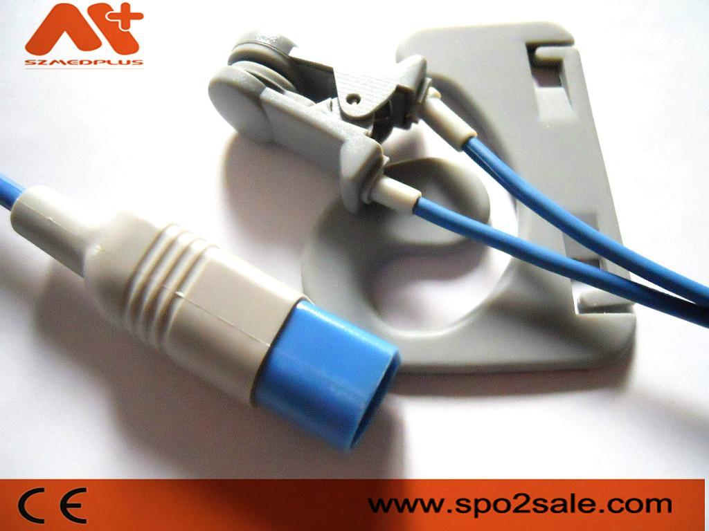 HP 8Pin M1194A Adult ear clip Spo2 sensor