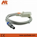 Kontron Redel 7 pin SpO2 Adapter Cable