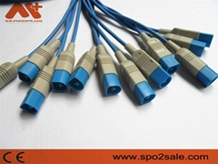 Spo2 molded cable for HP 8pin
