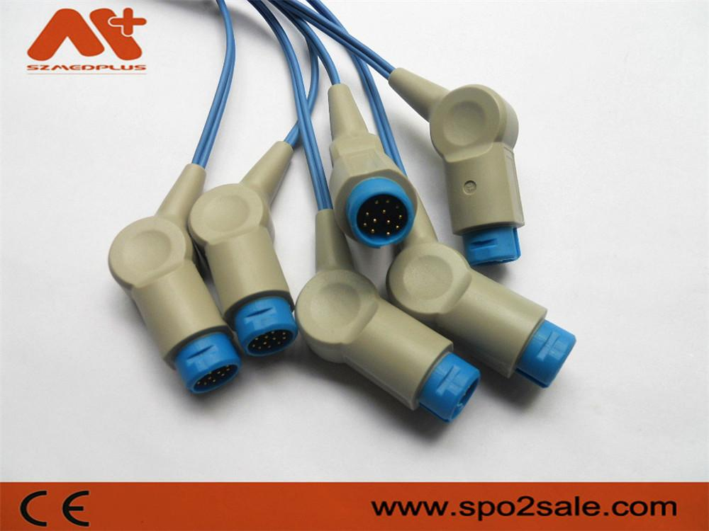 Spo2 molded cable for HP 12Pin 2