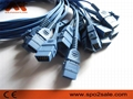 BCI Spo2 molded cable,0.9M 2