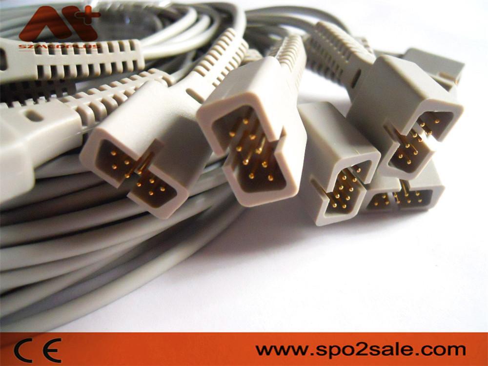 Nellcor oximax Spo2 molded cable,0.9M 1