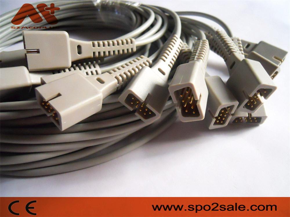 Nellcor oximax Spo2 molded cable,0.9M 2