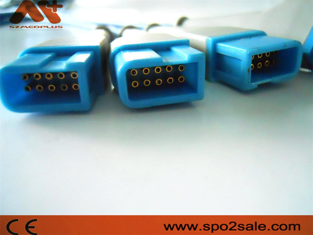 Spo2 Molded cable for Spacelabs,Rec connctor 2