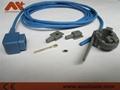Complete Spo2 sensor repair kits for CSI,0.9M(right angle 90 degree connector) 2