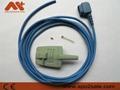 Complete Spo2 sensor repair kits for CSI,0.9M(right angle 90 degree connector) 3