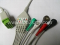 GE-Marquette One-piece 5-Lead ECG Cable