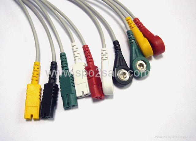 LL 5-lead ECG leadwires 1