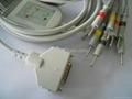 Fukuda FX-101 one-piece 10-Lead EKG cable FX-7101,FX-7202,FX-7402,FX-2111