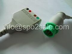 Siemens 5-Lead ECG Trunk Cable,AHA