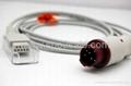 Kontron 608010 Spo2 extension cable 1