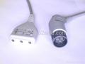 Nihon Kohden 3-lead ECG trunk cable