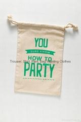 Cotton Muslin Bag, Cotton Pouch, Wedding Bag, Favor Bag