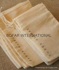 Muslin Bag, Cotton Tea Bag, Gift Bag & Cotton Drawstring Bags