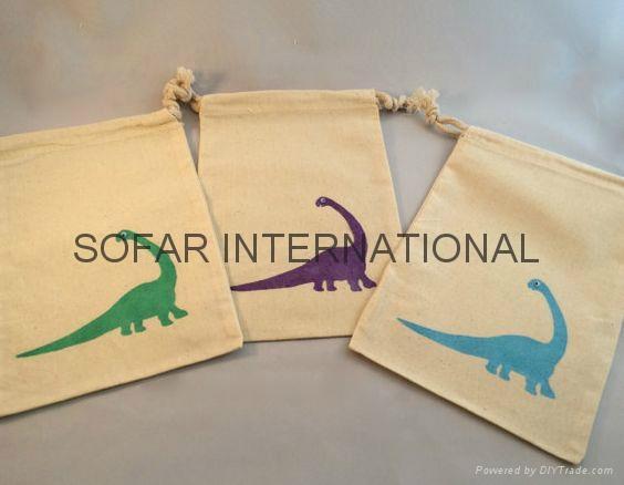 Muslin Bag, Cotton Tea Bag, Gift Bag & Cotton Drawstring Bags 3
