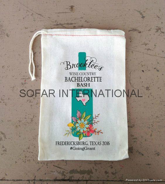 Muslin Bag, Cotton Tea Bag, Gift Bag & Cotton Drawstring Bags 5
