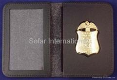 Neck chain Badge Holder,Police Badge Holder Wallet & Custom Badge Wallet
