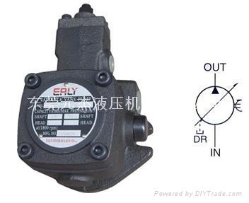 台湾弋力(EALY)VPE-F12-A-10变量叶片油泵