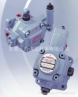 台湾安颂ANSON叶片泵  台湾安颂ANSON油压泵浦  PVF-12-70-10S变量叶片泵