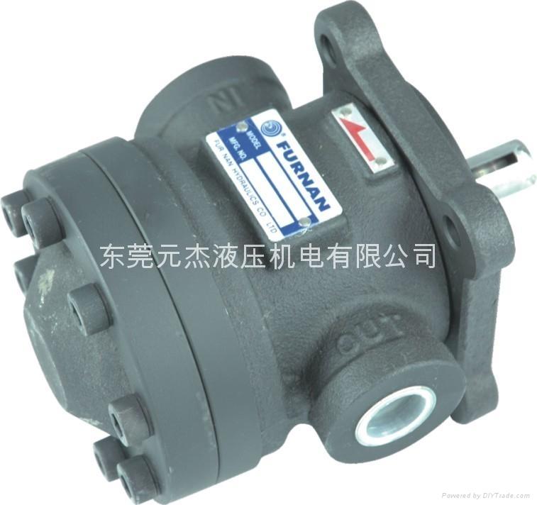 台湾福南FURNAN油压泵浦  福南50T-36定量叶片泵