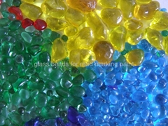 colours glass beads