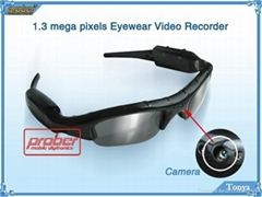 video recorder/video eyewear/sunglasses camera/video glasses
