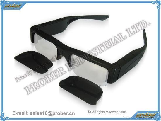 1.3 Mega Pixels Eyewear Video Recorder/Eyewear Recorder/sunglasses camera 1
