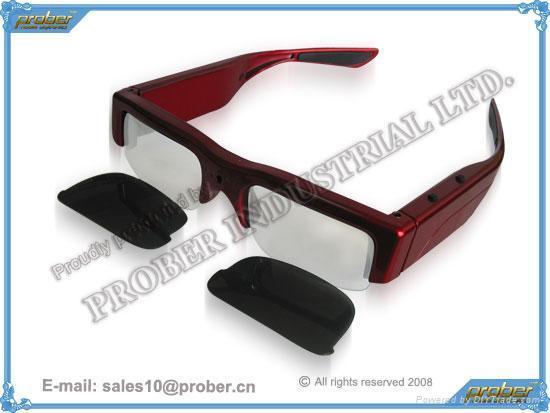 1.3 Mega Pixels Eyewear Video Recorder/Eyewear Recorder/sunglasses camera 3