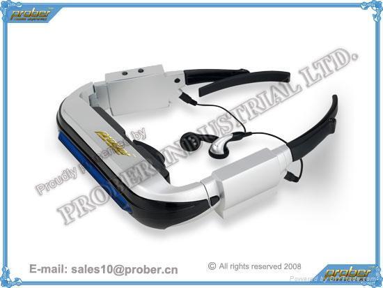 Wireless Video Eyewear with Baby Monitor Feature/Video Eyewear/3D Video Eyeawear 1