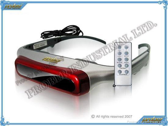 Video Eyewear/3D Video Eyewear/Video Glasses/920k Pixels Video Eyewear 80inch 1