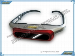 VIDEO EYEWEAR/920k Pixels Video Eyewear with 80inch Virtual Screen/Video Glasses