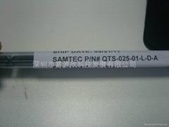 销售Samtec连接器QTS-025-01-L-D-A