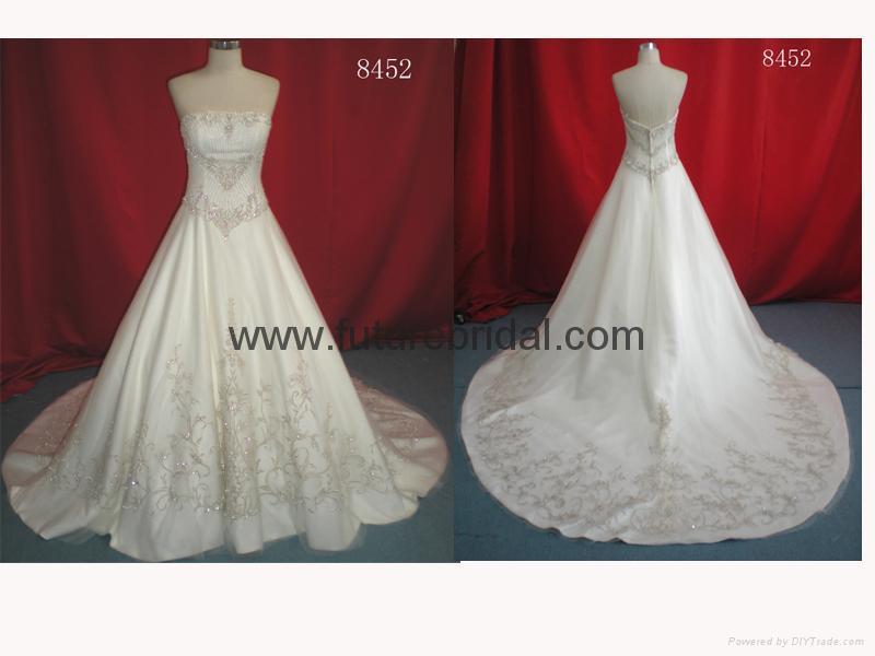 wedding dress(8452) 1