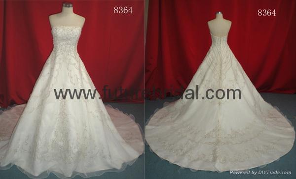 wedding dress(8452) 3