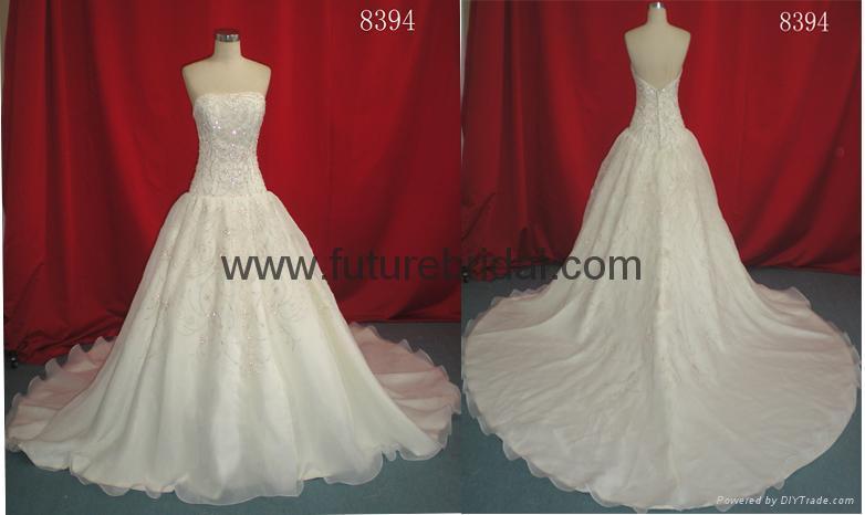 wedding dress(8452) 2