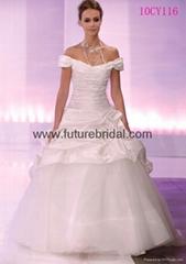 wedding bridal dress &wedding bridal