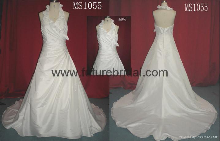 wedding bridal dresses wedding gown evening dress fishmaid dress (1894) 5