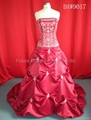 Wedding bridal gown dress and evening