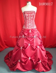 Wedding bridal gown dress and evening dress (DAW9017)