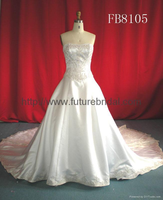 wedding dress& bridal gown  1