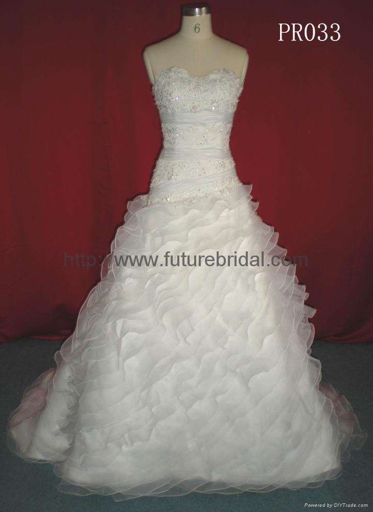 Wedding gown dress& bridal  gown dress 1
