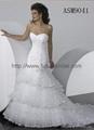 Wedding gown dress& bridal  gown dress 5