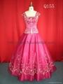 Ball gown evening dress 1