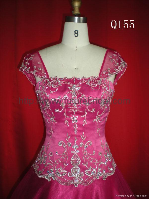 Ball gown evening dress 2